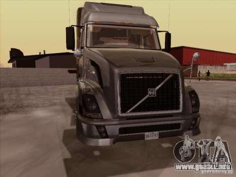 Volvo VNL 670 para GTA San Andreas left