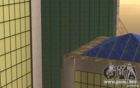 Rascacielos en San Fierro para GTA San Andreas quinta pantalla