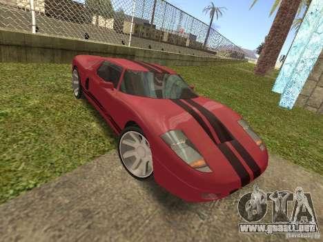 Bullet HQ para GTA San Andreas vista hacia atrás
