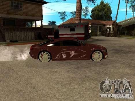 Audi Nuvolari Quattro para GTA San Andreas left