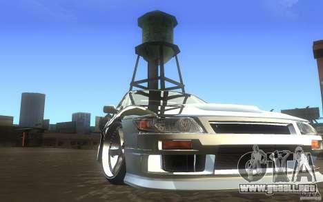 Nissan Silvia S13 Odyvia para GTA San Andreas vista hacia atrás