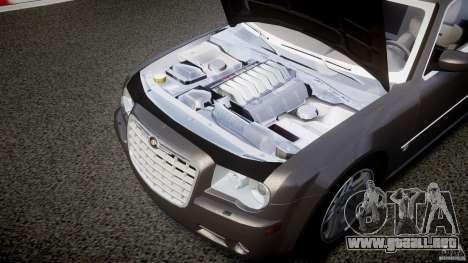 Chrysler 300C 2005 para GTA 4 vista interior