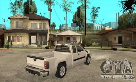GMC Sierra para la visión correcta GTA San Andreas