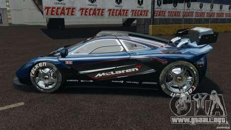 McLaren F1 ELITE para GTA 4 left