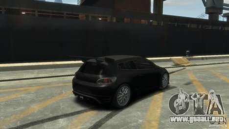 Volkswagen Scirocco GT-24 para GTA 4 visión correcta