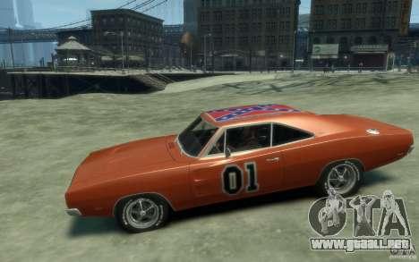 Dodge Charger General Lee v1.1 para GTA 4 left