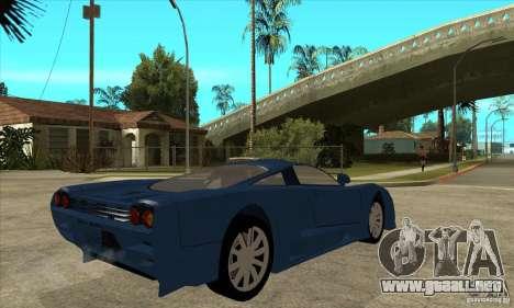Saleen S7 v1.0 para la visión correcta GTA San Andreas