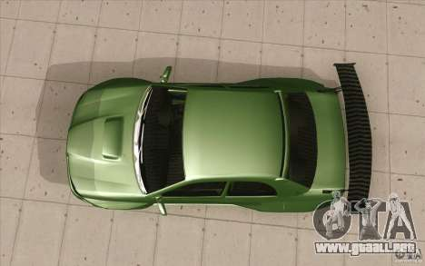 Subaru Impreza STI para la visión correcta GTA San Andreas
