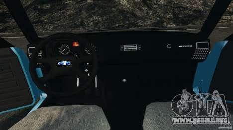 Vaz-2104 [Final] para GTA 4 vista hacia atrás