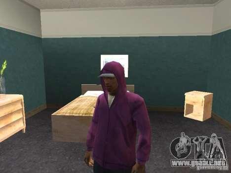 Campana para GTA San Andreas quinta pantalla