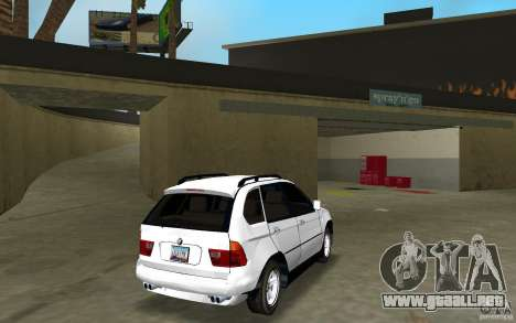 BMW X5 para GTA Vice City visión correcta