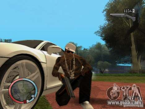 GTA IV HUD Final para GTA San Andreas