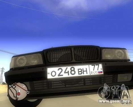 BMW 740il e38 para la visión correcta GTA San Andreas