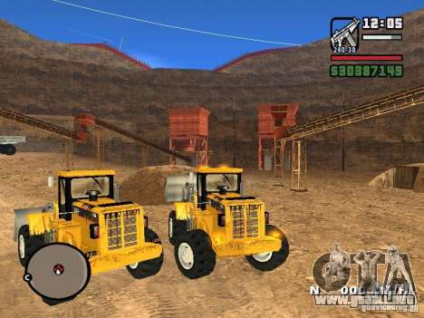 Caterpillar T530 para la visión correcta GTA San Andreas