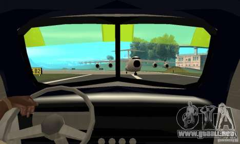 Chevy Towtruck COE 1946 para GTA San Andreas vista hacia atrás