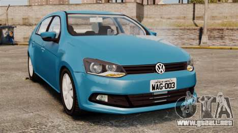Volkswagen Voyage G6 2013 para GTA 4