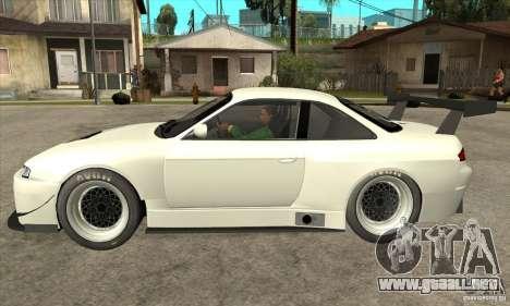 Nissan Silvia S14 GT para GTA San Andreas left