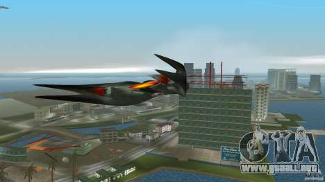 VX 574 Falcon para GTA Vice City vista lateral izquierdo
