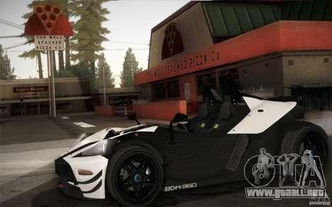 KTM-X-Bow para visión interna GTA San Andreas