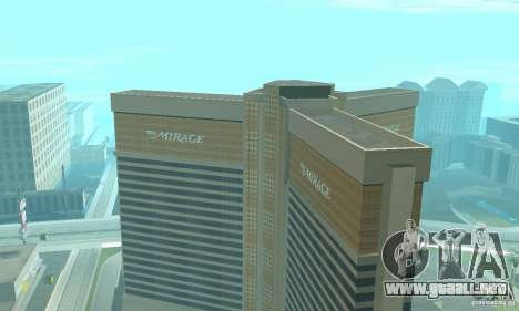 Welcome to Las Vegas para GTA San Andreas tercera pantalla