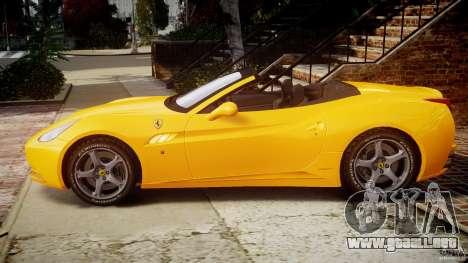 Ferrari California v1.0 para GTA 4 left