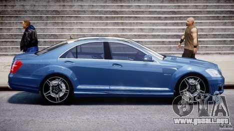 Mercedes-Benz S63 AMG [Final] para GTA 4 vista superior