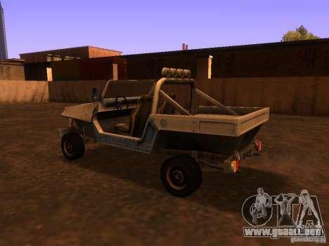 Camioneta de T3 para la visión correcta GTA San Andreas