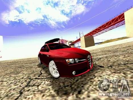 Alfa Romeo 159 Sportwagon para la visión correcta GTA San Andreas