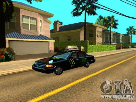 Ford Crown Victoria Taxi para GTA San Andreas
