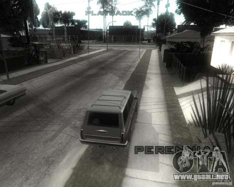 GTA SA - Black and White para GTA San Andreas sucesivamente de pantalla