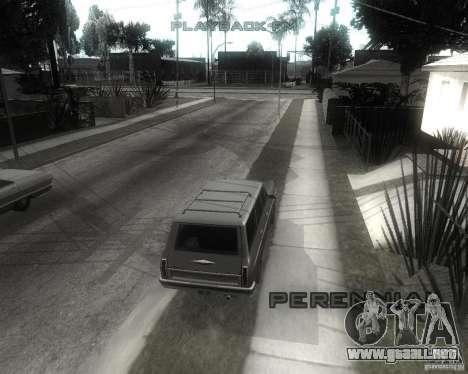 GTA SA - Black and White para GTA San Andreas sucesivamente de pantalla