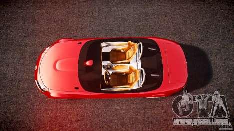 Mazda Miata MX5 Superlight 2009 para GTA 4 visión correcta