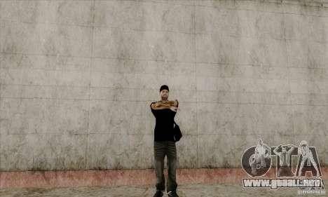 Piel de Bmydrug para GTA San Andreas sucesivamente de pantalla