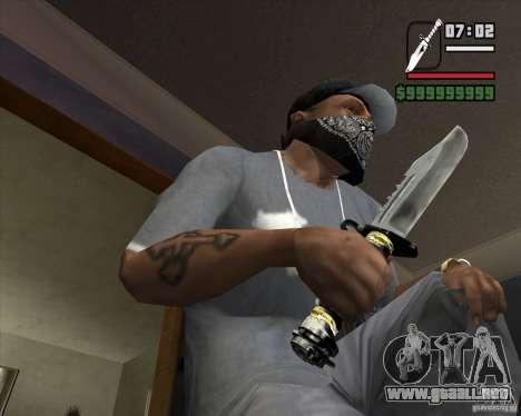 El cuchillo de la acosadora # 2 para GTA San Andreas