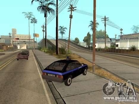 Patrulla AZLK 21418 para GTA San Andreas left