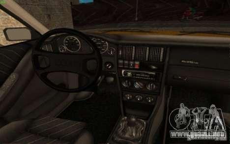 Audi 90 Quattro 20V para la visión correcta GTA San Andreas