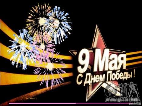 Pantalla de arranque de 9 de mayo para GTA Vice City tercera pantalla