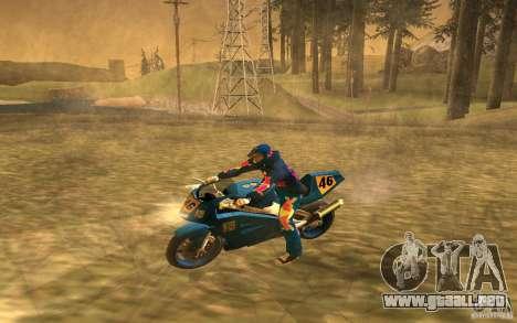 Red Bull Clothes v1.0 para GTA San Andreas octavo de pantalla