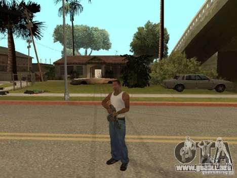 Ametralladora ligera Dâgterëva para GTA San Andreas séptima pantalla