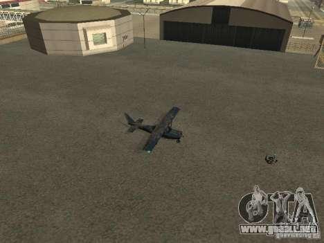 Un nuevo avión-Dodo para GTA San Andreas vista hacia atrás