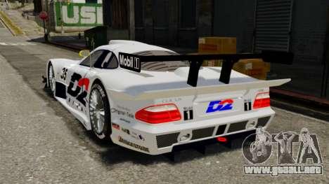 Mercedes-Benz CLK LM 1998 para GTA 4