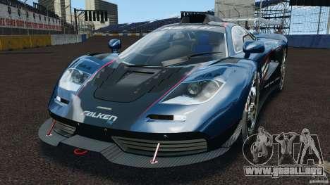 McLaren F1 ELITE para GTA 4