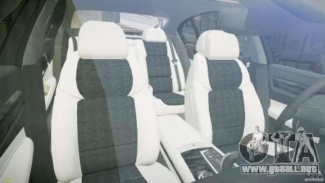 BMW 750Li Sedan ASANTI para GTA 4 vista hacia atrás