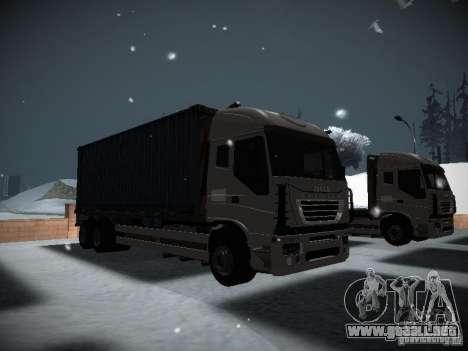 Iveco Stralis Long Truck para GTA San Andreas left