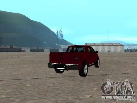 Ford F-150 2005 para la visión correcta GTA San Andreas