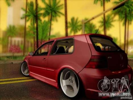 Volkswagen Golf Street para GTA San Andreas left