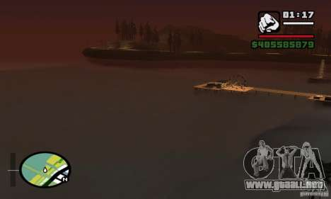 0,075 ENBSeries (agua) para GTA San Andreas séptima pantalla