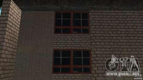 Apartamento de dos habitaciones para GTA San Andreas segunda pantalla