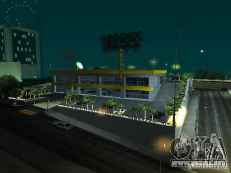 Nuevo showroom en San Fierro para GTA San Andreas
