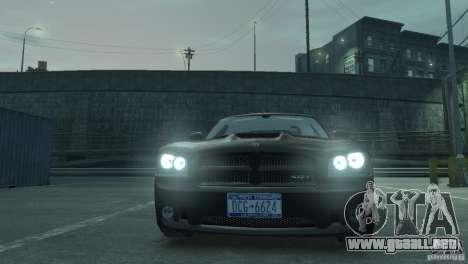 Dodge Charger 2007 SRT8 para GTA 4 visión correcta
